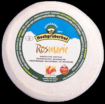 Formaggio al Rosmarino Rosmarie - Hochgruberhof