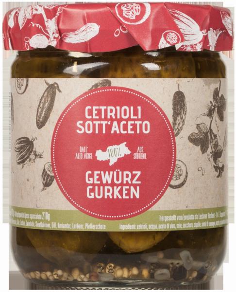 Südtiroler Gewürzgurken - Lechner Herbert