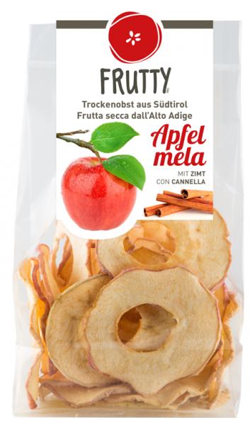 Getrocknete Äpfel Zimt