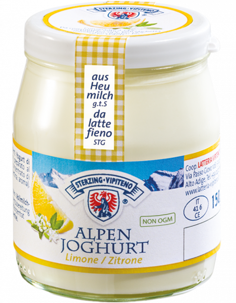 Limone Yogurt delle montagne - Milchhof Sterzing