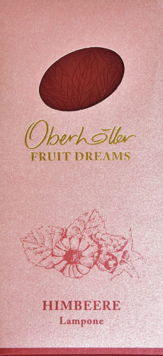 """Tavoletta ai Lamponi """"Fruit Dreams"""" - Oberhöller"""