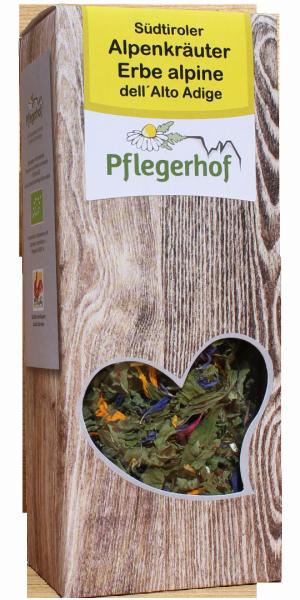 Infuso Erbe alpine dell`Alto Adige Bio - Pflegerhof