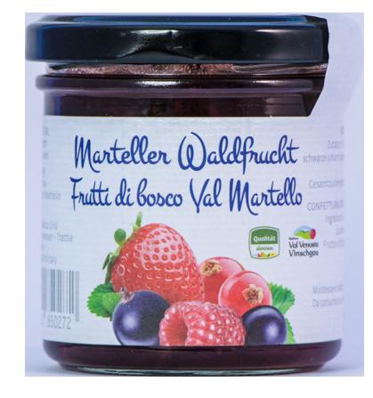 Frutta da spalmare frutti di bosco - Seibstock Manufaktur