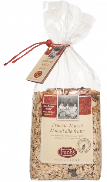Müsli mit Früchten - Fuchs Privatmühle
