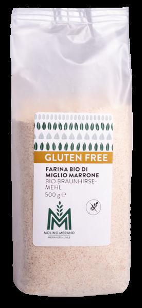 Braunhirsemehl glutenfrei Bio - Meraner Mühle