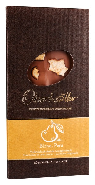 Birnenschokolade