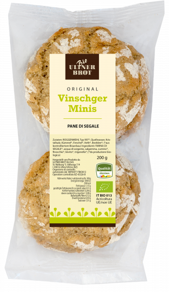 """Pane di segale """"Original Vinschger mini"""" bio - Ultner Brot"""