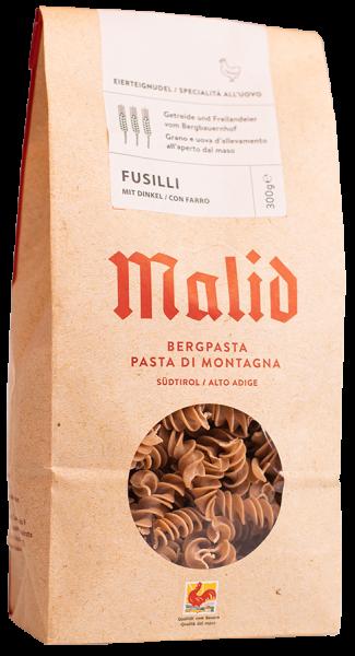 Pasta di montagna Fusilli Farro - Obermalidhof Malfertheiner Max
