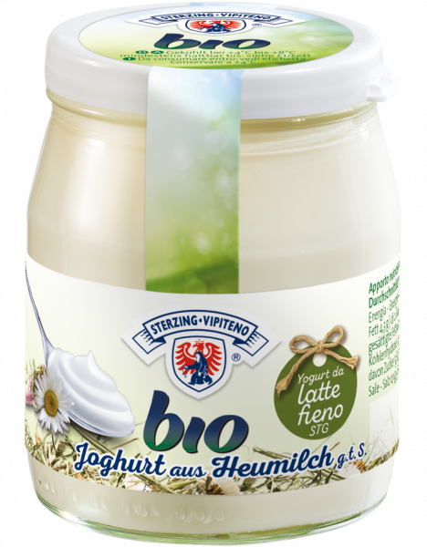 Bianco Yogurt intero da latte fieno Bio - Milchhof Sterzing