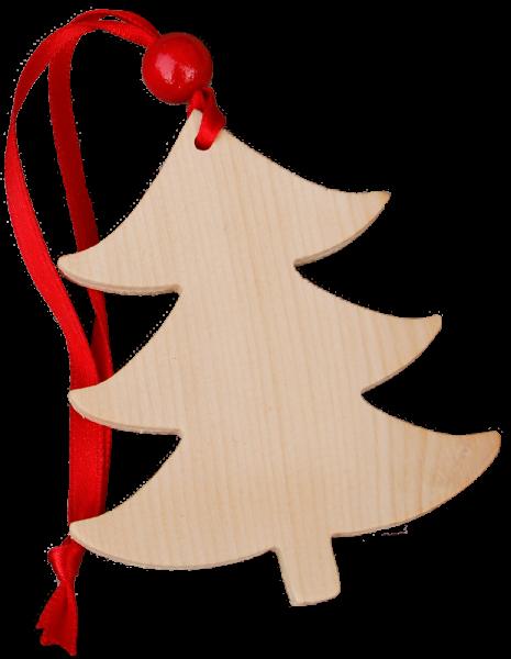 Pendente natalizio in cirmolo - alberello - Schnalser Säge