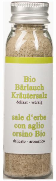 Sale all'Aglio orsino Bio - Südtiroler Kräuterschlössl