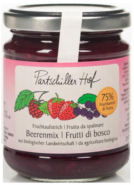 Beerenmix Bio Fruchtaufstrich - Partschillerhof
