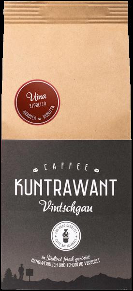 Espresso 85% Arabica 15% Robusta Bohnen - Kuntrawant