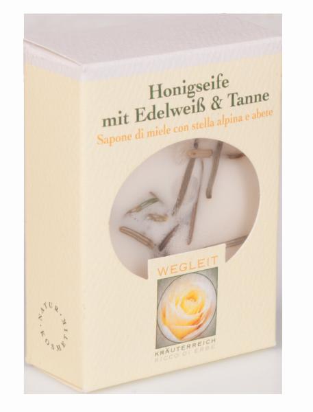 Sapone di miele Stella alpina e Abete - Kräuterreich Wegleit