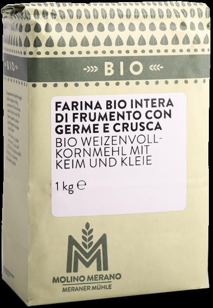 Weizenvollkornmehl Bio - Meraner Mühle