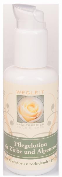 Emulsione al cembro e rodondendro per il corpo - Kräuterreich Wegleit
