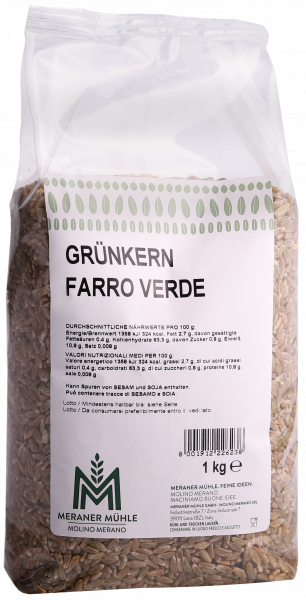 Farro verde - Meraner Mühle