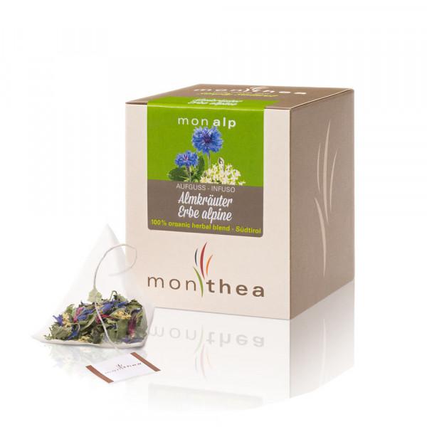 Infuso Erbe alpine Monalp Bio bustine - Monthea