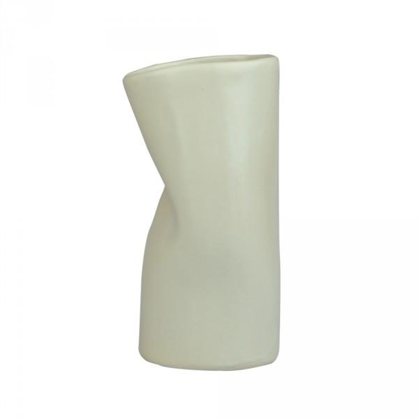 Geknickte Vase hellgrün
