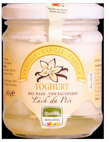 Vanille-Joghurt vom Bauernhof - Lüch da Pcëi