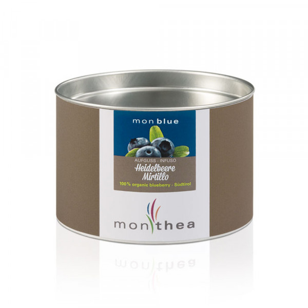 Infuso Mirtilli Monblue Bio scatoletta - Monthea