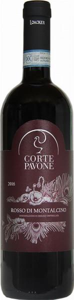 """Rosso di Montalcino """"Corte Pavone"""" Bio 2016 - Weingut Loacker"""