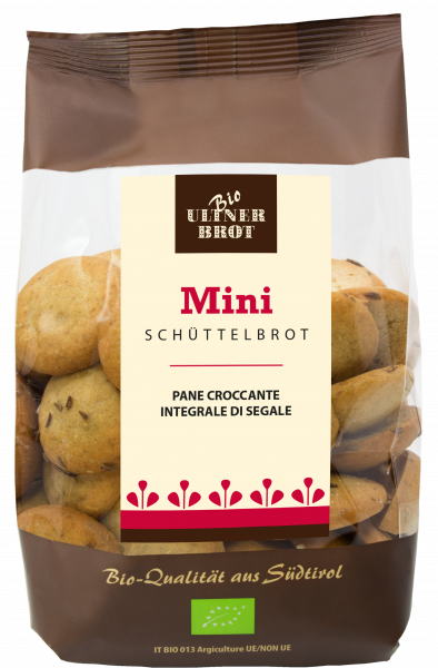 Mini Schüttelbrot Bio - Ultner Brot
