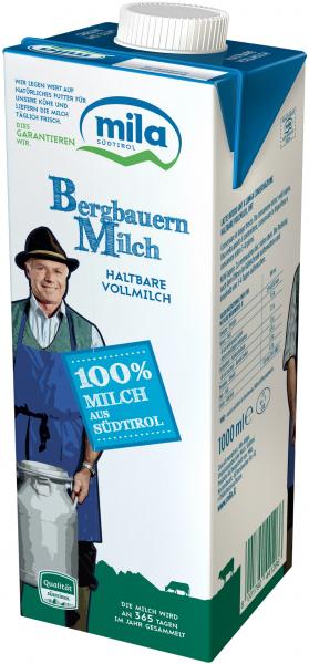 Latte UHT intero - Mila Bergmilch