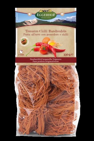 Tomaten Chili Bandnudeln - Eggerhof