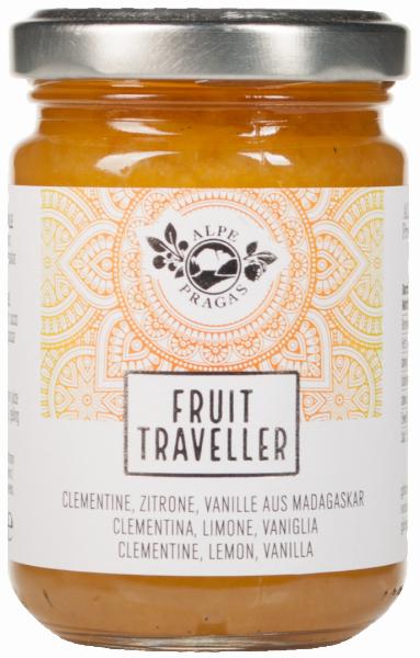 Clementina, Limone e Vaniglia Fruit Traveller Composta - Alpe Pragas
