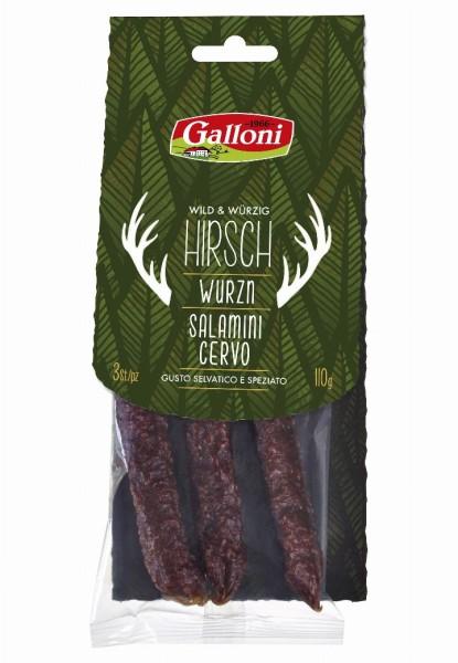 Salamino con cervo - Galloni Meran/o