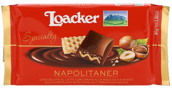 Cioccolato Specialty Napolitaner - Loacker