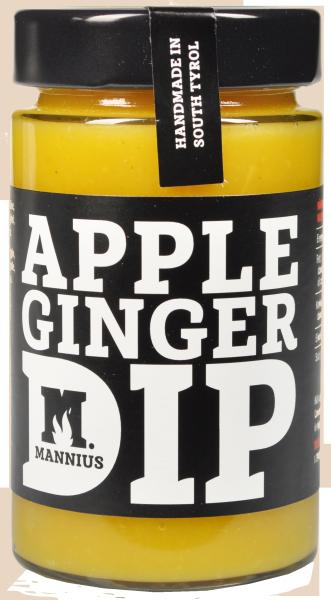 Apfel Ingwer Dip - Mannius