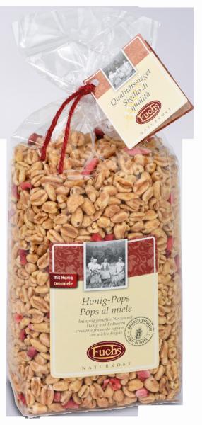 Pops al miele con fragole - Fuchs Privatmühle