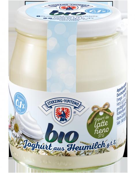 Bianco Yogurt magro da latte fieno Bio - Milchhof Sterzing