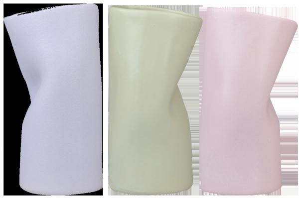 Geknickte Vase