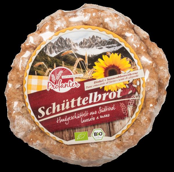 Schüttelbrot Bio di farro con semi di girasole - Naturbackstube Profanter