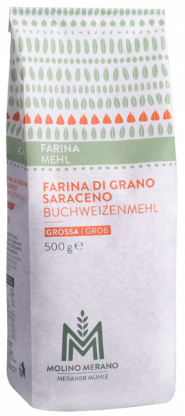 Farina di grano saraceno grossa - Meraner Mühle
