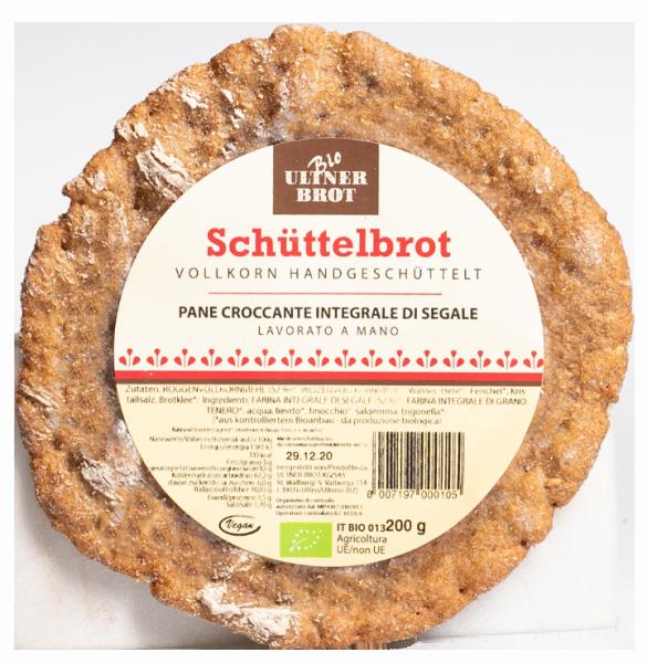 Vollkorn Schüttelbrot - Ultner Brot