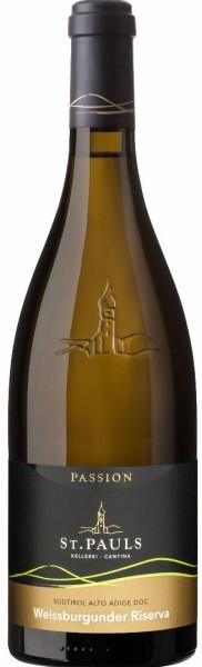 """Pinot Bianco Riserva """"Passion"""" 2017 - Kellerei St. Pauls"""