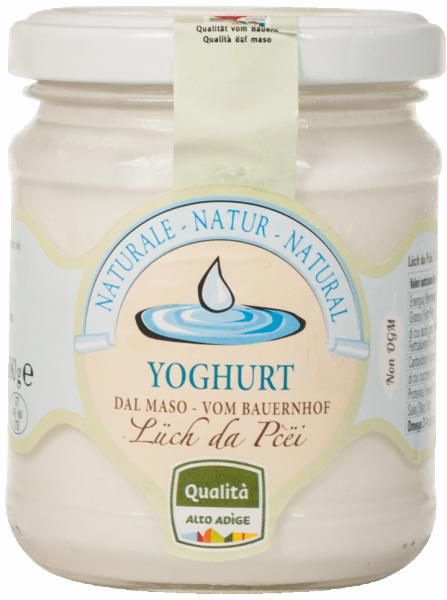 Naturjoghurt vom Bauernhof - Lüch da Pcëi