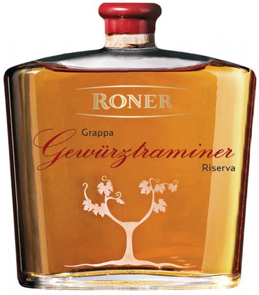 Grappa Gewürztraminer 18 mesi cassetta di legno - Roner