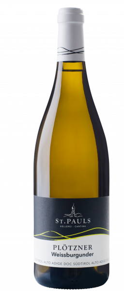 "Pinot Bianco ""Plötzner"" 2019 - Kellerei St. Pauls"