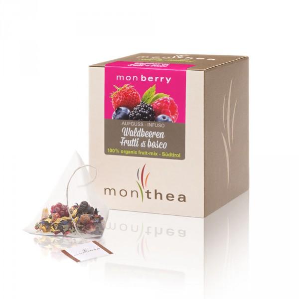 Infuso Frutti di bosco Monberry Bio bustine