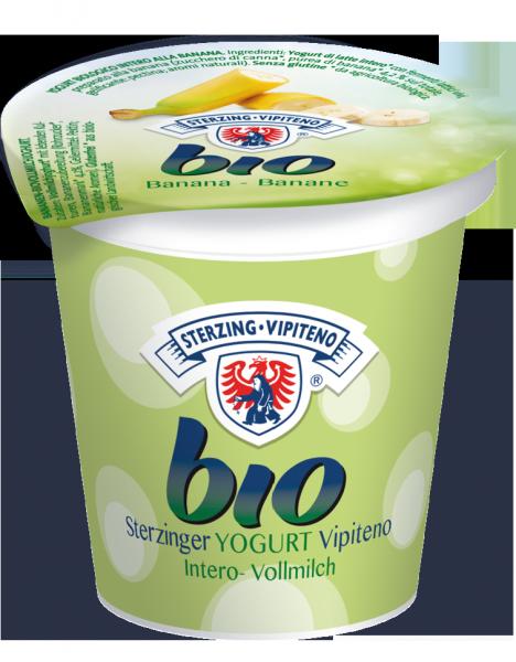 Banana Yogurt intero Bio