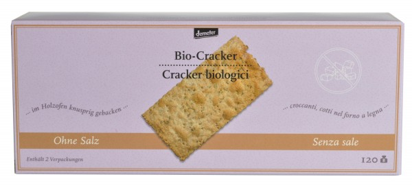 Cracker biologici - Feichter Bernhard