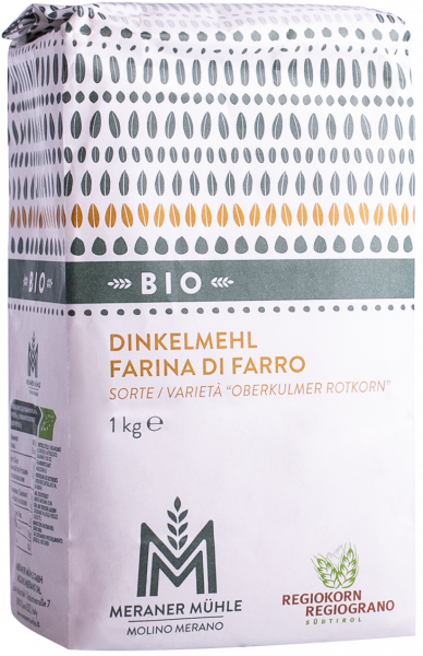 Farina di farro Regiograno bio - Meraner Mühle