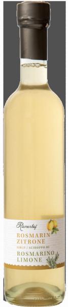Sciroppo rosmarino e limone - Riemerhof