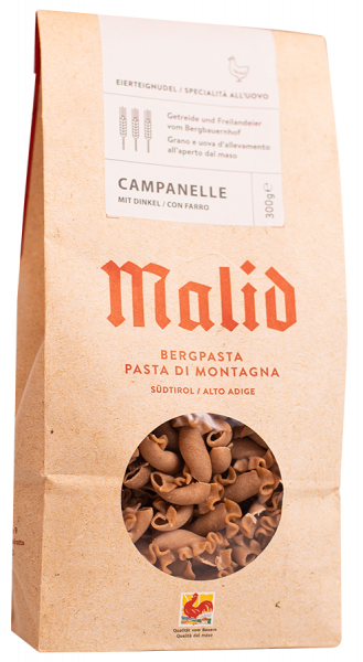 Pasta di montagna Campanelle Farro - Obermalidhof Malfertheiner Max