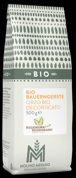 Orzo decorticato Bio Regiograno - Meraner Mühle